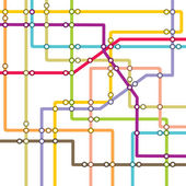 Metro scheme - subway map