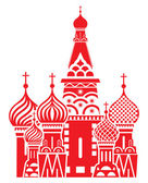 Moscow symbol - Saint Basil's Cathedral Russia