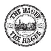 The Hague grunge rubber stamp
