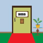 Door leading to the boss