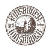 Innsbruck grunge rubber stamp