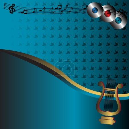 Harp and discs