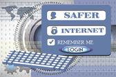 Safer internet concept