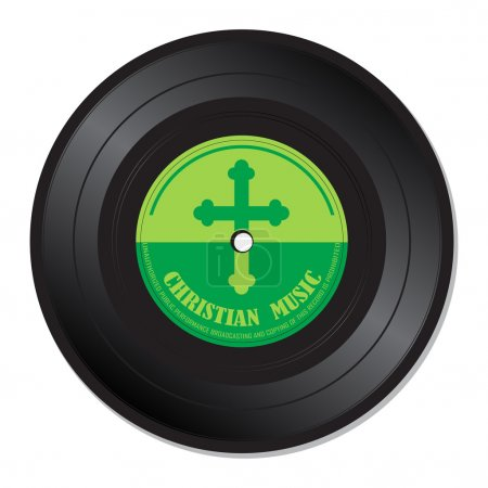 Christian music vinyl record