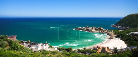 Llandudno beach and popular surf spot in the Western Cape of South Africa