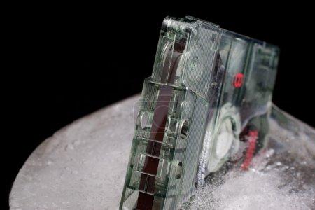 Old tape frozen