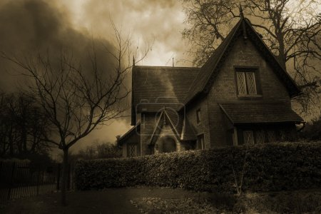 Photo for Haunted House - Royalty Free Image