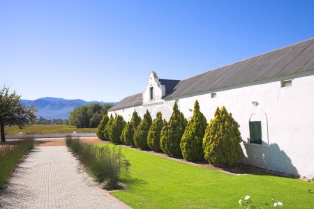 Original winery on the Wine farm of Plaisir de Merle, South Africa
