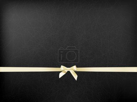Illustration for Textured background with a white bow - Royalty Free Image