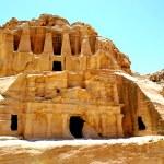 The ancient city of Petra, Jordan, Palace...
