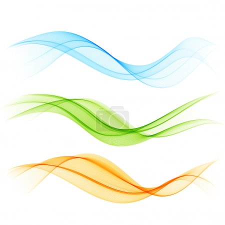 Illustration for Abstract wave background - Royalty Free Image
