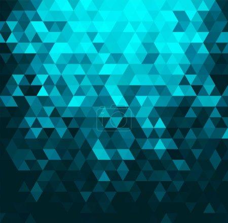 Illustration pour Contexte géométrique abstrait - image libre de droit