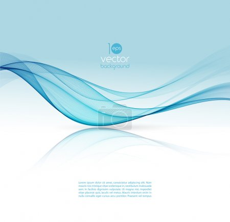 Illustration for Abstract colorful template vector background. Brochure design - Royalty Free Image