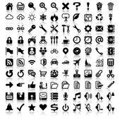 Sada minimalistické ikon