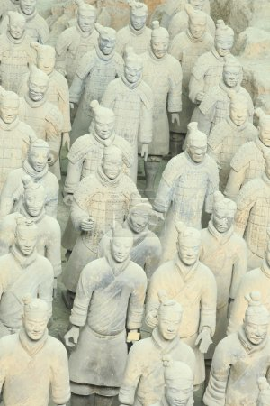 Restored Terracotta Warriors