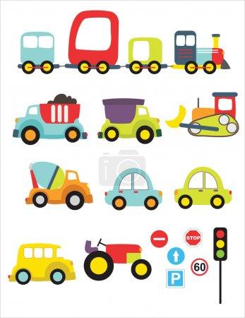 Lovely transport set
