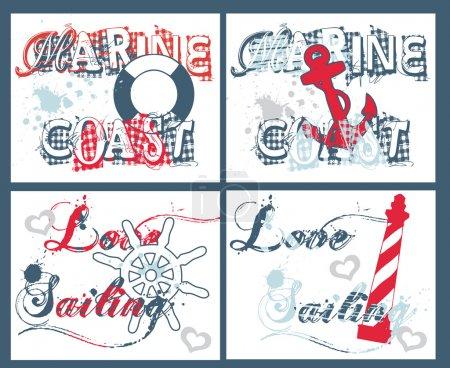 Marine card set