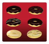 Six Assorted Donuts