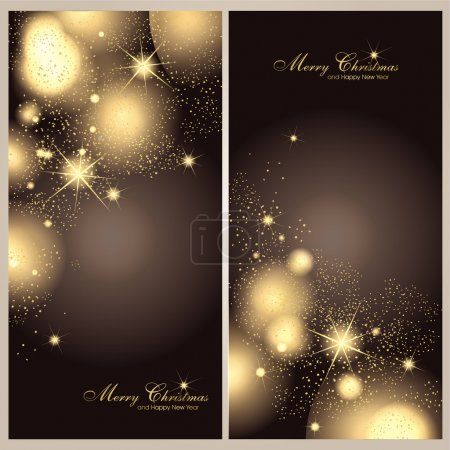 Illustration for Christmas background - Royalty Free Image