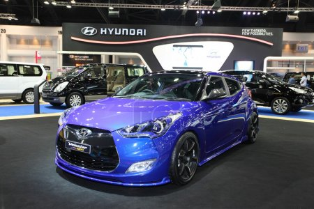NONTHABURI NOVEMBER 28 Hyundai Velaster