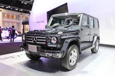 NONTHABURI - March 25: Mercedes Benz The New G-Class car on disp