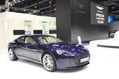 NONTHABURI - March 25:Aston Martin Rapide S car on display at Th