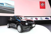 NONTHABURI - March 25: Nissan Juke car on display at The 35th Ba