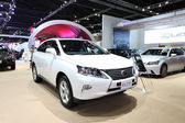 NONTHABURI - March 25: Lexus RX 270 car on display at The 35th B
