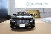 NONTHABURI - March 25: Lexus LS 600hl car on display at The 35th