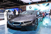 NONTHABURI - March 25: BMW i8 Luxury car on display at The 35th