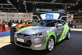 NONTHABURI - March 25: Hyundai Veloster car on display at The 35