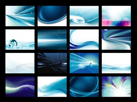 Vector Background Set