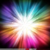 Colorful Vector Explosive Glow