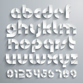Paper Graphic Alphabet