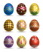 Vector 3D Easter Eggs