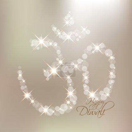 Vector Diwali Om Sign