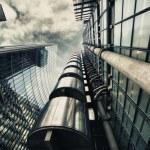 HDR picture of skyscraper in London...