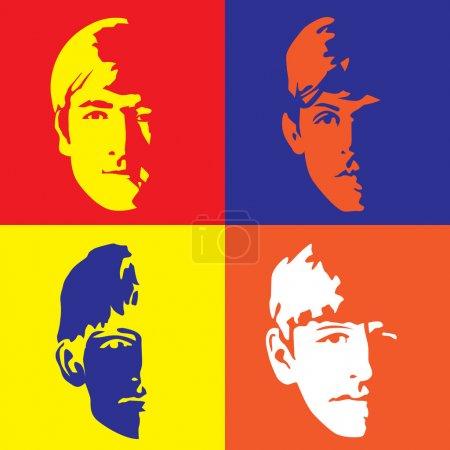 The Fab Four - John, Paul, Ringo & George