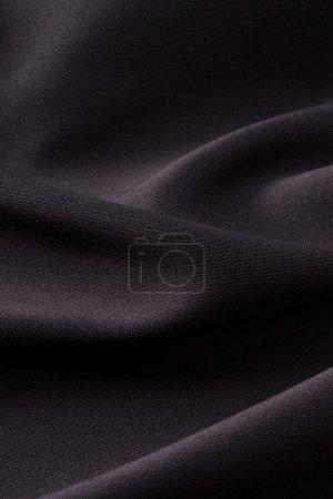 Foto de Textura de tela negra - Imagen libre de derechos