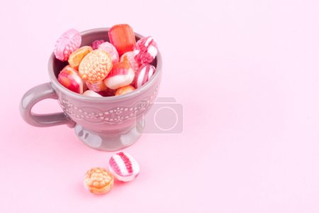 A cup of candys