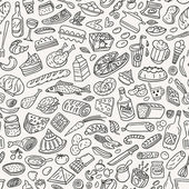 food ,cookery - seamless pattern