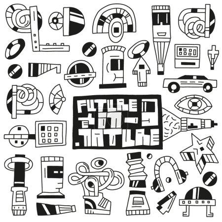 Devices,future,robots toys - doodles