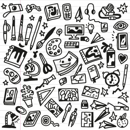 Art Doodles - Vector