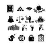 Finance & banking icons set