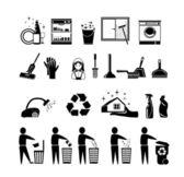 čisticí sada ikon