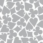 Seamless Poker Pattern Background