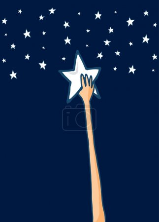 Reach for the stars or Success