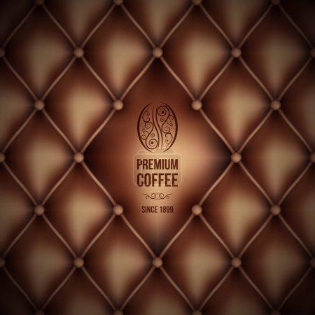 Premium coffee (leather theme)
