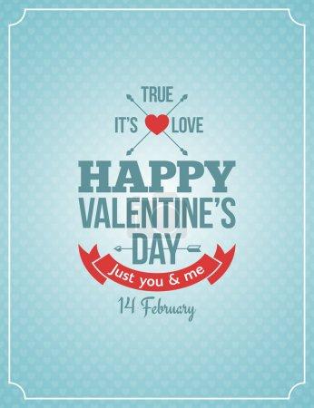 Photo pour Valentines fond vintage rétro 10 eps - image libre de droit