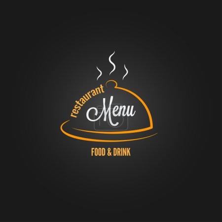 Photo pour Menu nourriture et boissons fond design 8 eps - image libre de droit